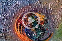abstraktne obrazy / maľujem abstraktne  obrazy