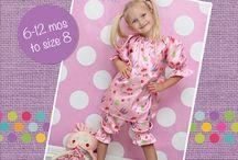 Girls Shorts PDF Sewing Patterns