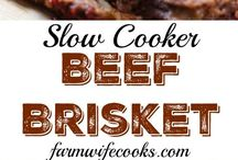 Beef Recipes to Try / A collection of beef recipes that we need to try!