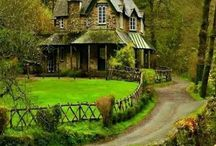 Dream Homes / My ideal dream home is a french country cottage.