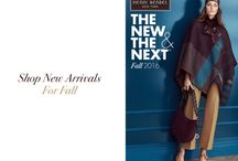 The New & The Next: Fall 2016