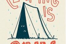 Rożne campingowe grafiki