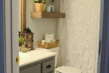 Bathroom Inspiration / DIY and decor ideas for bathrooms