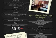 Locandine e Volantini / Tutto il materiale pubblicitario realizzato da noi: grafica e stampa inclusa