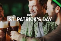 Host St. Patrick's Day / There's a reason St. Patrick's Day is celebrated in more countries around the world than any other national festival. People love the celebratory spirit of the Irish. Try these St. Paddy's hosting tips and recipes that will have your guests feeling the luck of the Irish.