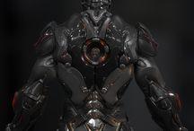 Robot Future / Robots and futurism concepts