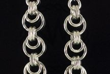 Chainmaille Earrings / by Lisa Ellis
