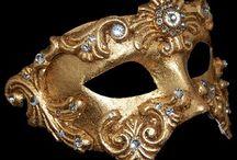 Masques Vénitien / Venetian #masks #masques  ¡Laissez les bons temps rouler!  Let the good times roll! / by C. Marie Cline