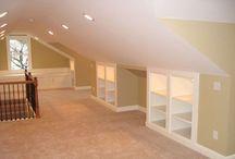 Комнаты со срезанным потолком
