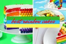 Best Rainbow Cakes / Best rainbow cakes on Cakes Inc http://cakes-inc.com/best-rainbow-cakes/