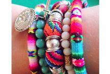 Inspiratie voor ketting. .armband en oorbellen