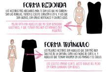 Style tips / Trucos de moda que favorece tipos de prendas, complementos, estilismos, figura del cuerpo