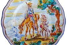 Decorative plates from Spain