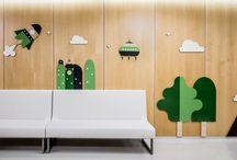 Идеи дизайна детского сада/Wall idea for kids / Идеи дизайна и декорирования детских садиков, клубов, групп детского сада, детских комнат и зон.