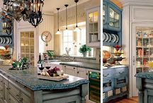 dream kitchen i will one day have / by Othilia Austin