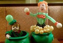 Balloon st patrick's