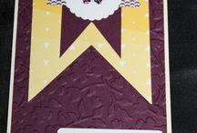 Grußkarten, Stampin' Up! / Scrapbooking, Stempeln, Karten, mit Produkten von Stampin' Up!