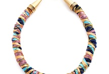 Jewelry / necklace, ruffle collar, statement jewelry
