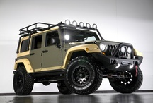 Our Famous Jeeps / Some of our famous kevlar sprayed Jeeps plus other cool Jeeps we find on the internet! / by Starwood Motors