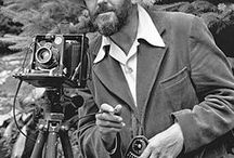 "Photographers & Iconic Images / ""You don't take a photograph... you make it"" -- Ansel Adams"