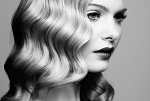 hollywood wave and vintage hair