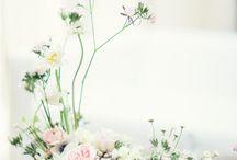 ikebana inspired florals