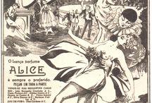 Bela, recatada e do lar / Propagandas antigas de revistas brasileiras | #vintage #illustration