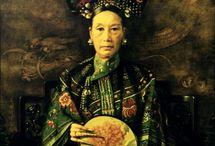 Chinese Cultuur / In dit bord laten wij allerlei culturele aspecten van het land China zien.