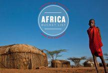 Africa Bucket List