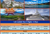 Leh Ladakh Package / Leh Ladakh Tour Package for your Holidays, Honeymoon, Adventure Trip, Corporate Group, School/College Group Tour or Your Family Group Tour with amazing Hotels, Camps, meals, and all sightseeing in Leh, Nubra Valley, Pangong. The is started from Delhi, Chandigarh, Manali and Srinagar.
