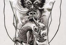 tetování kirin
