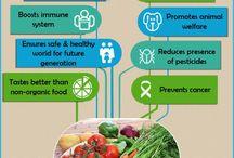Organic Foods / Healthy Eating  / by Lisa Burdette