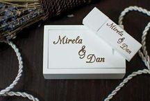 White wooden oak box.