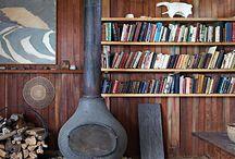 home: wood burning