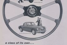 MG Car Ads / Vintage MG Sports Car Advertisements