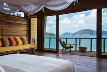 habitación de hotel / Diseño, producción y fabricación exclusiva y ecológica por www.comprarenbali.com