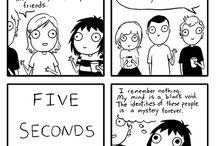 Comics humor