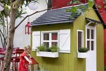 Playhouse Ideas / by Pam Tobias