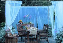 DIY: Outdoor Living Space / DIY Ideas for creating an outdoor living space.