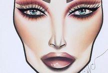 Makeup draw
