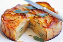 Recipes: Savory pies/quiche