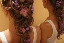 Floral head wear