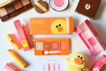 Asian makeup and skincare
