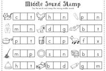 missing letter - middle