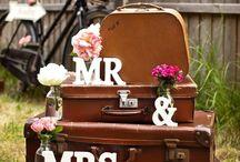 Maletas / Decoración bodas