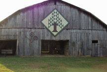 Barn quilts / by Stephanie Dowdy