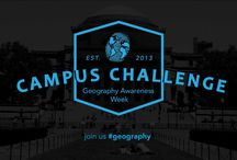 GeoWeek Campus Challenge / During Geography Awareness Week (November 17-23) we invite you to take part in the 2013 Campus Challenge! These are resources to help get you started!  http://ow.ly/q3VrX  / by Geography Awareness Week