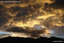 Sunset sequences 18 / Sunset sequences over the Andes, Pichincha Volcano, Quito, Ecuador