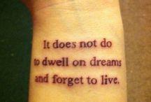 Tattoos ❤ / by Kirsten McClain