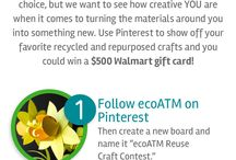 ecoATM Reuse Craft Contest / by Leanne Arvila